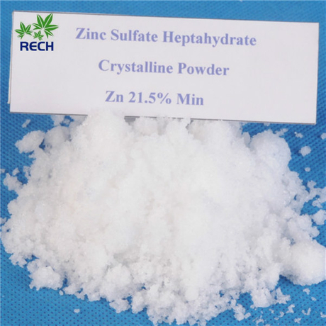 High Purity Inorganic White Vitriol Zinc Sulphate Heptahydrate Crystal Powder 22%